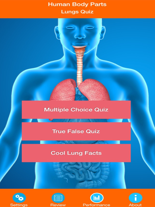Human Body Parts : Lungs Quiz on the App Store