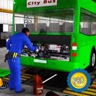 Réal Bus Mécanicien Simulateur Réparer Atelier PRO icon