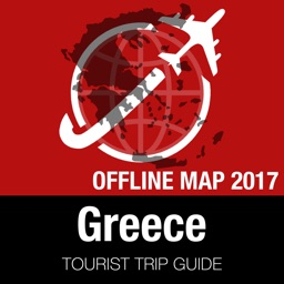 Greece Tourist Guide + Offline Map