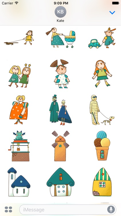 Fantastic. Art stickers by PopAppFactory screenshot-4