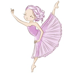 I Love Dance Ballet Sticker Pack