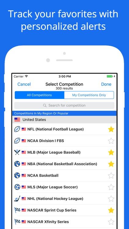 Sporteventus - Find Sporting Events, Buy Tickets screenshot-3