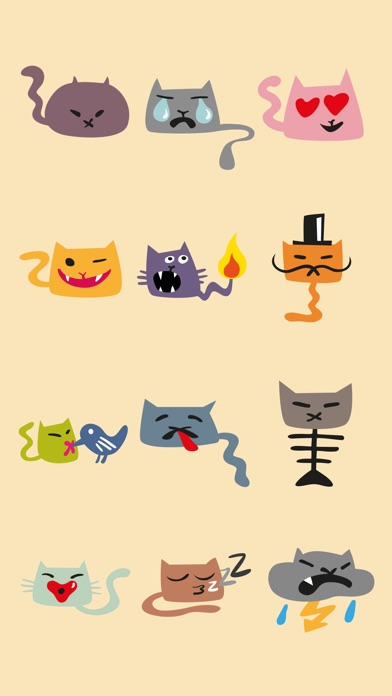 Supercats Stickers