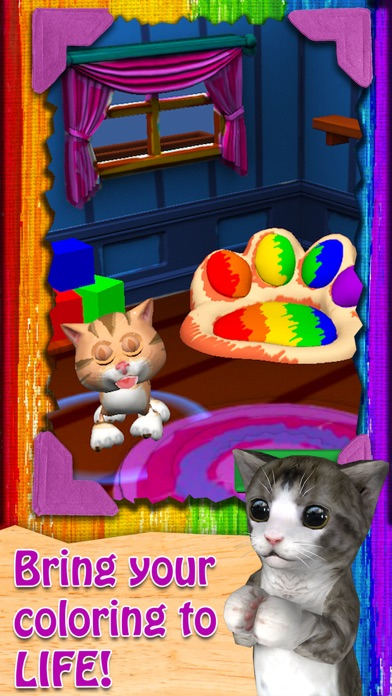 Paint My Cat - Color and Play Скриншоты3