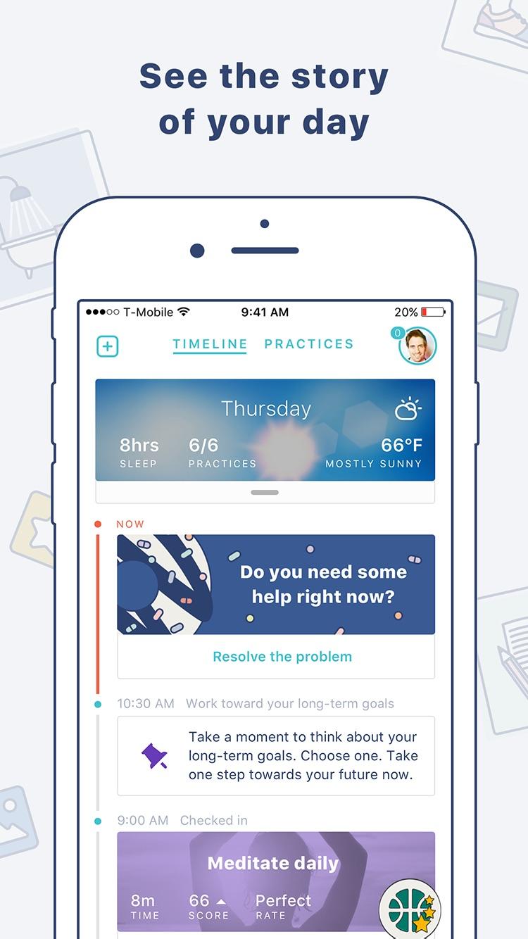 Aluna Health – Goal Tracker and Habit Builder