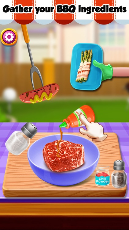 Grill BBQ Maker! Fun Fair Food Barbeque Party