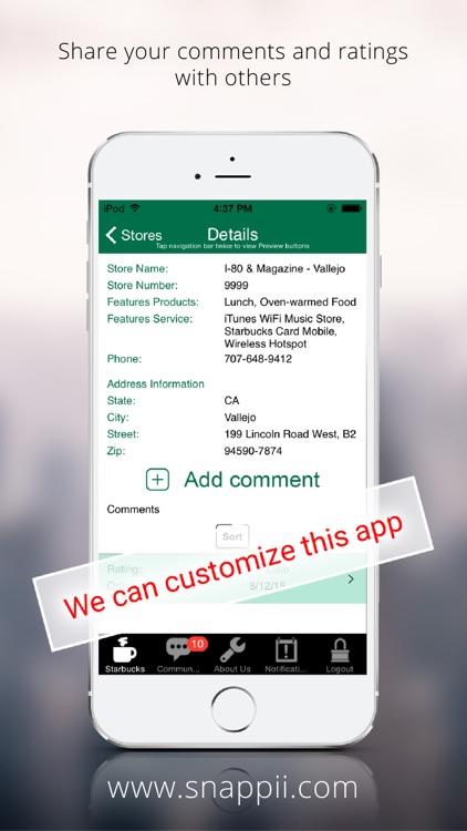 Great Coffee Finder for Starbucks screenshot-3