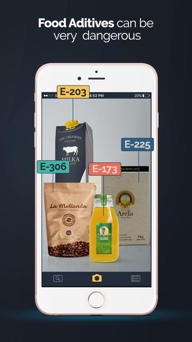 E − Food ScannerScreenshot von 1