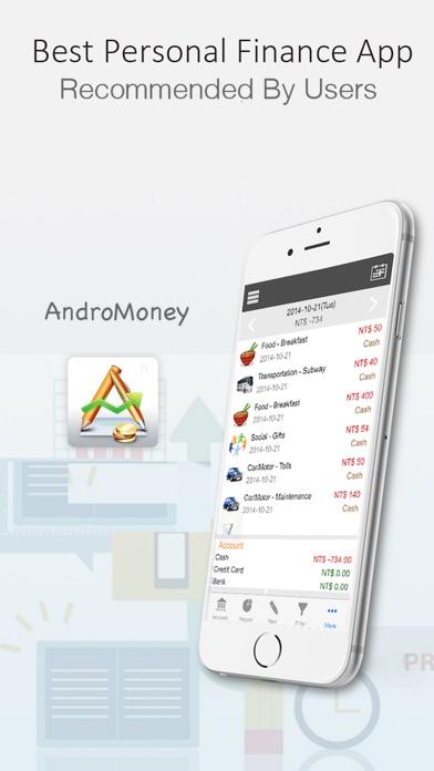 AndroMoney Screenshots