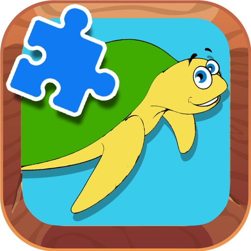 Jigsaw Puzzles Games Turtle Animal Version application logo
