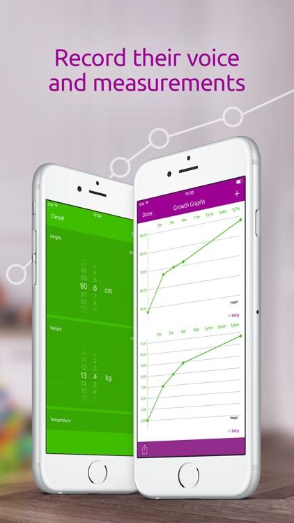 Baby Tracker: Milestones, Development And Journal screenshot-4