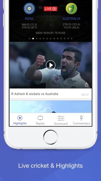 Willow - Watch Live Cricket Screenshot