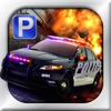 3D Police Car Parking Free - 停车场免费游戏
