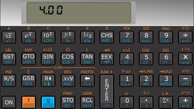 Touch 11i scientific RPN calculator screenshot-0