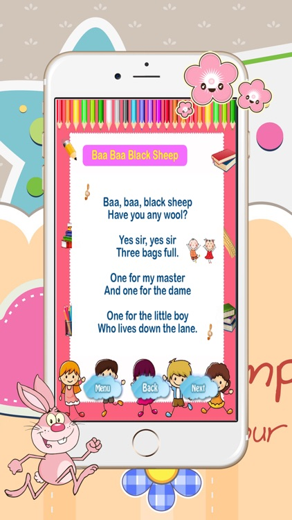 Nursery Rhymes List With Lyrics 4 Kids