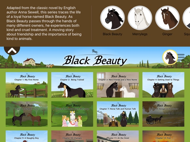 Black Beauty - Little Fox Storybook on the App Store