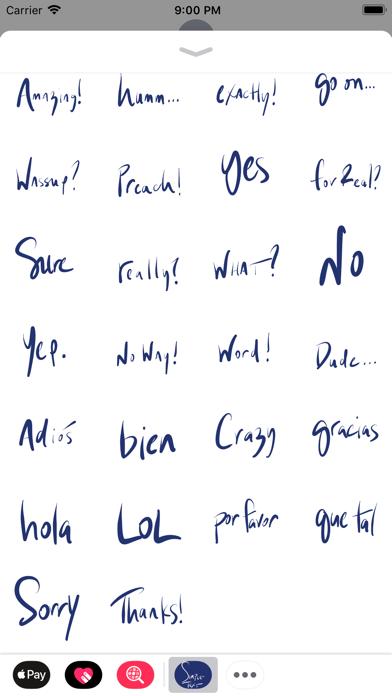Simple Text Stickers screenshot three