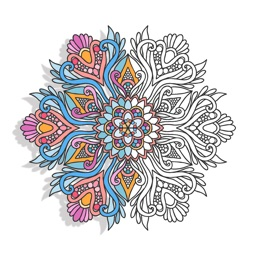 mandala coloring books adults color calm therapy - Color Books For Adults