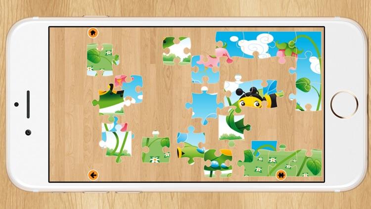 Kids Cartoon Puzzle Jigsaw screenshot-4