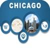 Chicago IL USA  City Offline Map Navigation