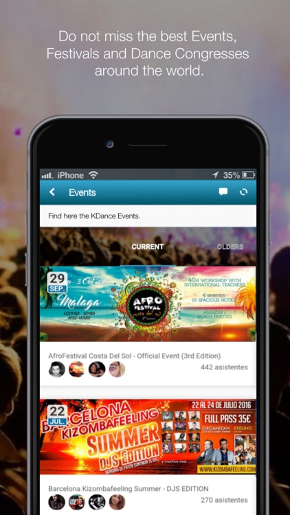 KDance - Dance & Music App.