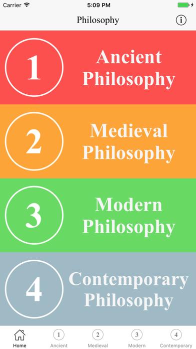 Philosophy screenshot one