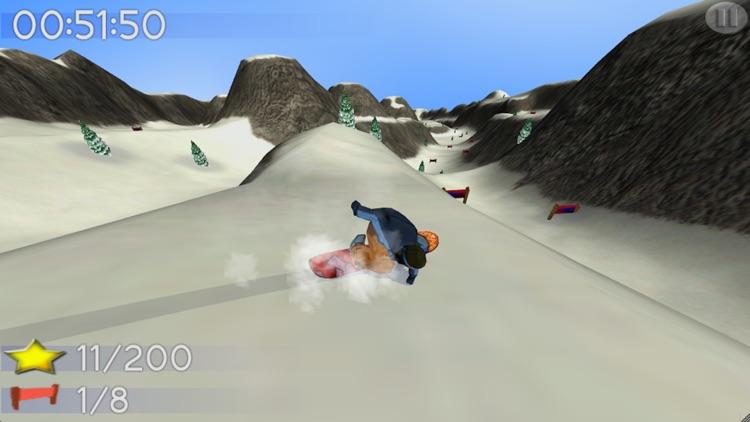 Big Mountain Snowboarding Lite screenshot-0