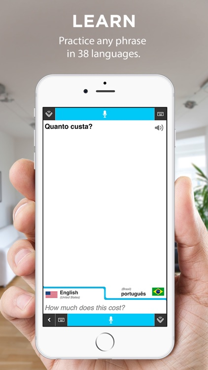 Vocre Translate - Voice and Text Translator screenshot-1