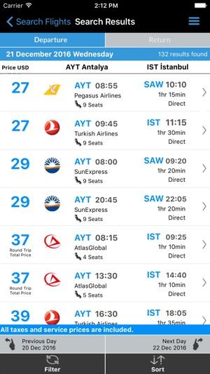 Aerobilet - Flights,Hotels,Bus Screenshot