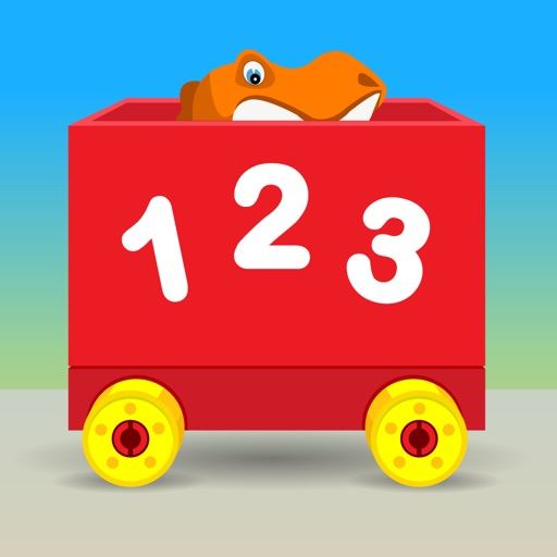 Number Train Kindergarten Maths icon