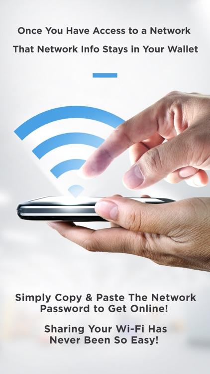 Wi-Fi Wallet Unlock Passwords screenshot-4