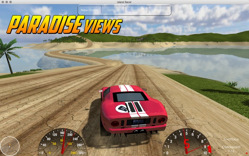 Island Racer Lite Screenshot