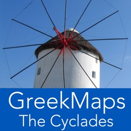 GreekMaps - The Cyclades in Your Pocket
