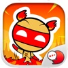 Akkie Fire Up! Stickers for iMessage