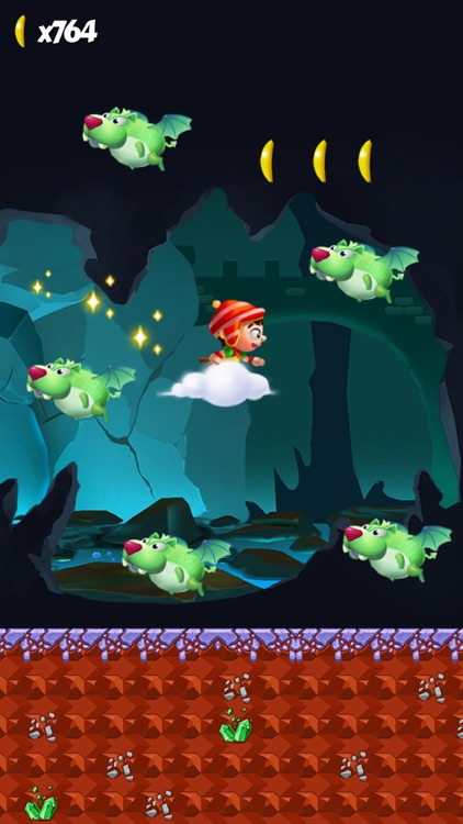 Jungle Adventure Story - Super Run World screenshot-3