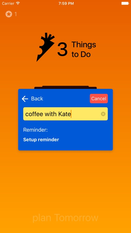 3 Things to Do - To-Do list screenshot-3