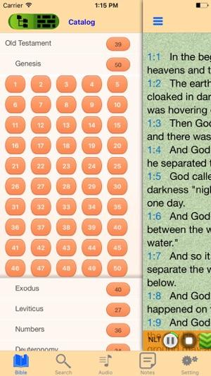 New Living Translation NLT Audio Bible offline on the App Store