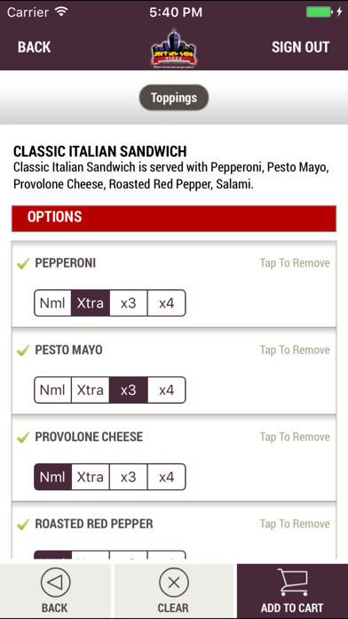 Joe's New York PizzaScreenshot of 4
