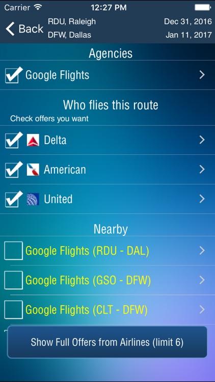 Raleigh Airport Pro (RDU) + Flight Tracker screenshot-3