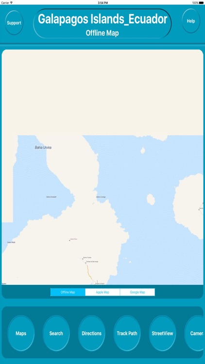 Galapagos Islands Offline City Maps Navigation by Egate IT ...