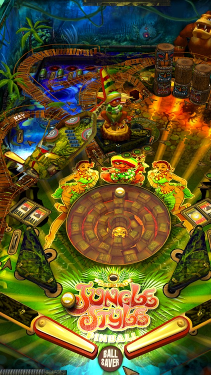 Jungle Style Pinball screenshot-0