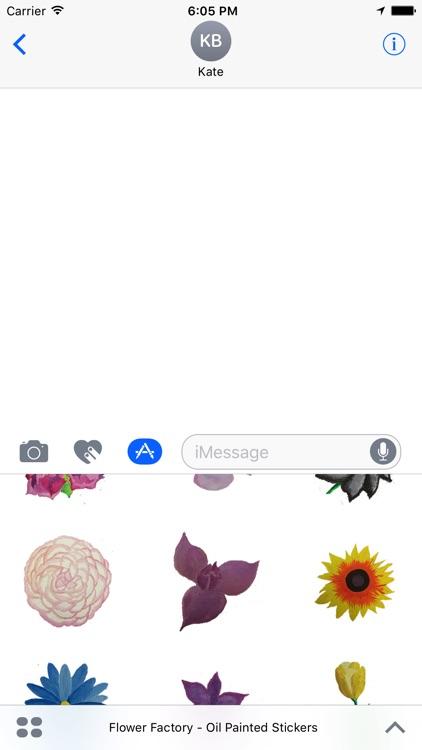 Flower Factory - Original Painted Stickers screenshot-4