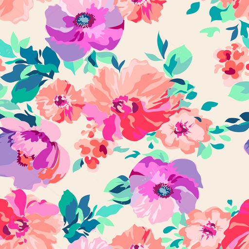 floral wallpapers floral backgrounds free by fexy apps