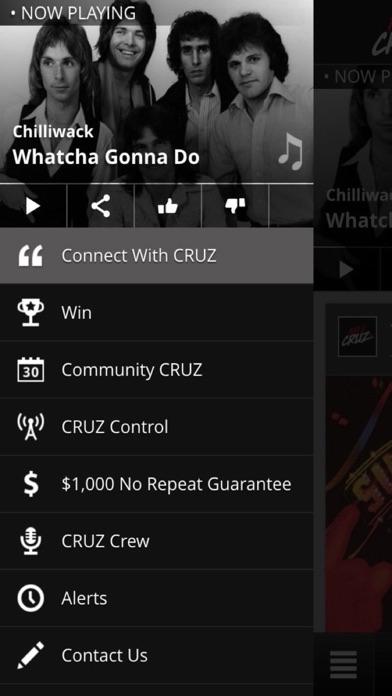100.5 Cruz FM Fort McMurray Screenshot on iOS