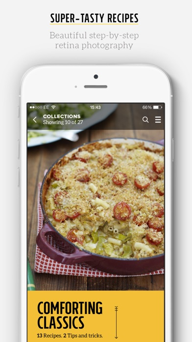 Jamie Oliver's Recipes Screenshot