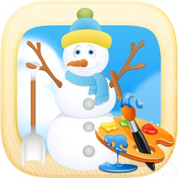Snow World : drawing games for kids