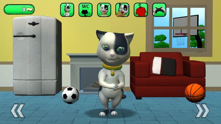 Talking Baby Cat Max Pet Games