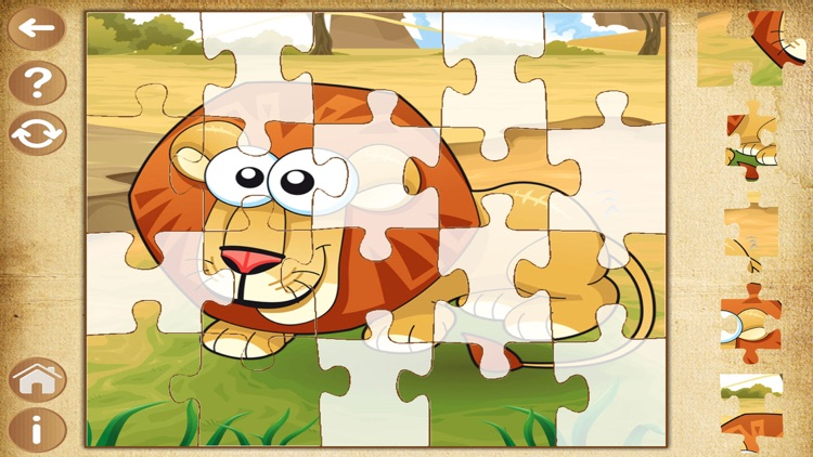 Animals Puzzles for toddler - Learning kids games