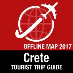 Crete Tourist Guide + Offline Map