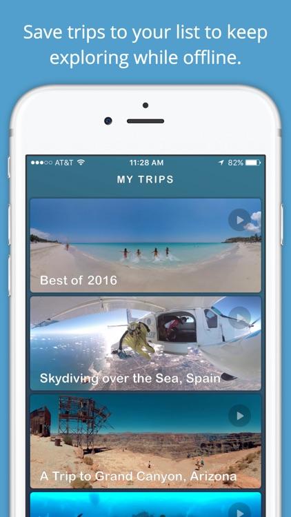 Ascape VR: Travel App - 360° World Traveler screenshot-3